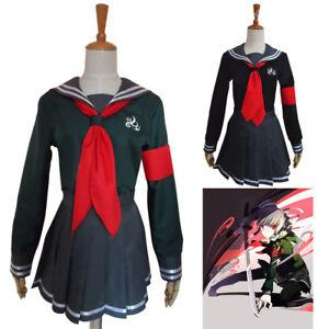 Danganronpa Peko Pekoyama Cosplay Costume School Uniform Sailor Outfit Full Set