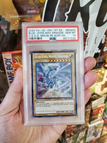 MVP1-ENS55 Near Mint Blue-Eyes White Dragon Secret Rare 1st Edition x1