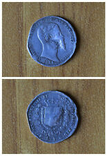 REGNO DI SARDEGNA VITT EMANUELE II 1 LIRA 1853