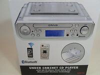 Craig Under Cabinet Cd Player Am/fm Radio Alarm Clock Bluetooth Kitchen