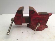Vintage Sears Craftsman 391 5186 Swivel Base Bench Vise 4 1 2 Anvil