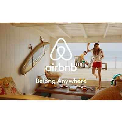 Airbnb Gift Card  $50 $100 or $200 - Email delivery