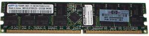 HP-373030-851-DDR-2GB-PC-3200-Reg-ECC-400Mhz-2Rx4-RAM-Memory-2-Pieces-Total-4Gb