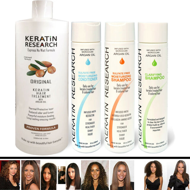 Kr Complete Complex Brazilian Keratin Blowout Hair Treatment Kit 1000ml For Sale Online Ebay