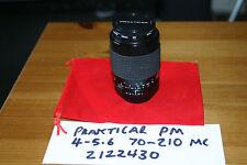 Prakticar PM 1:4-5.6 Zoom Lens 70-210mm M42 screw (Pentax/Zenit/Praktica)