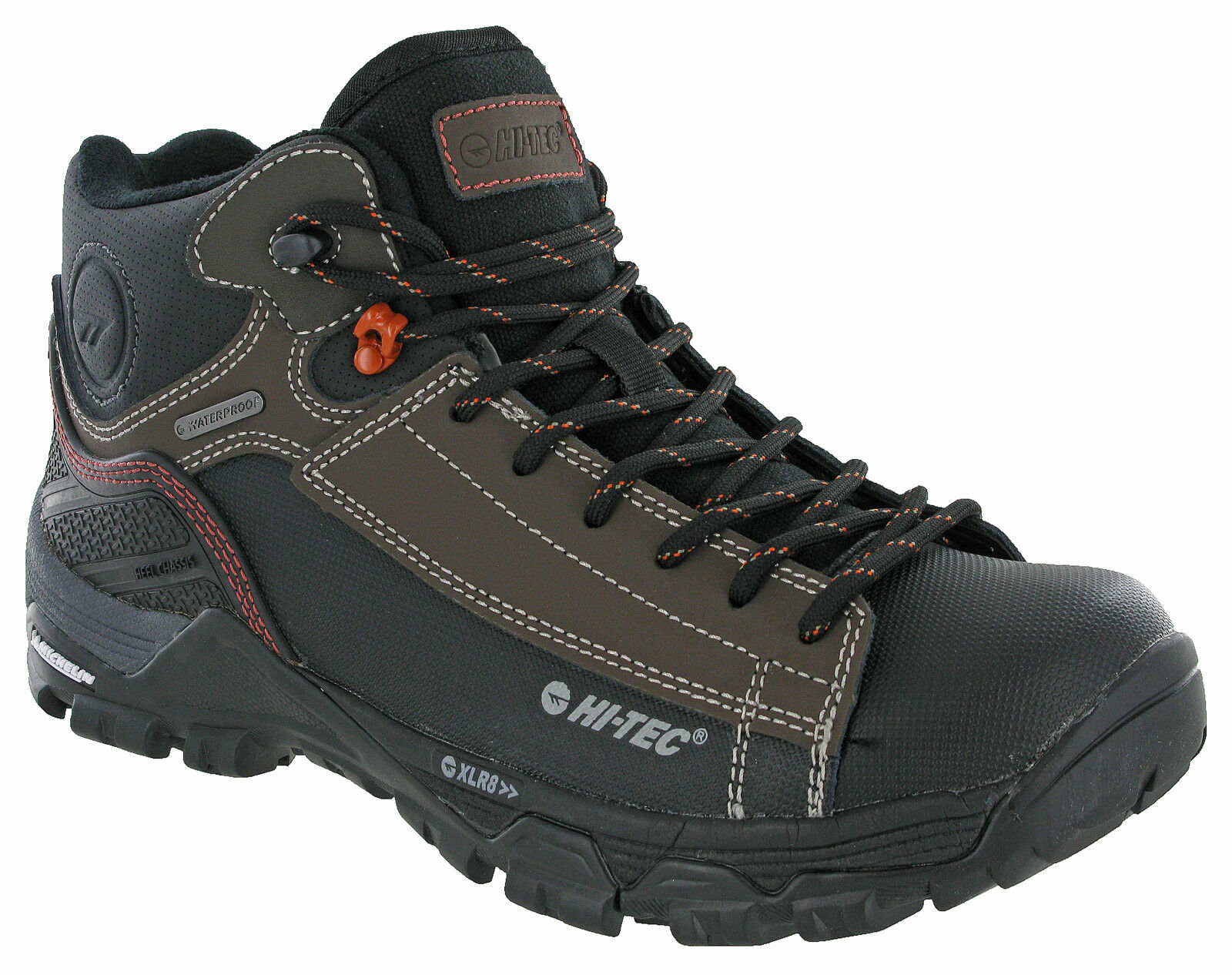 Hi-tec Hiking Boots Trail Ox Chukka I Waterproof  Michelin Outsole Leather Mens  clearance