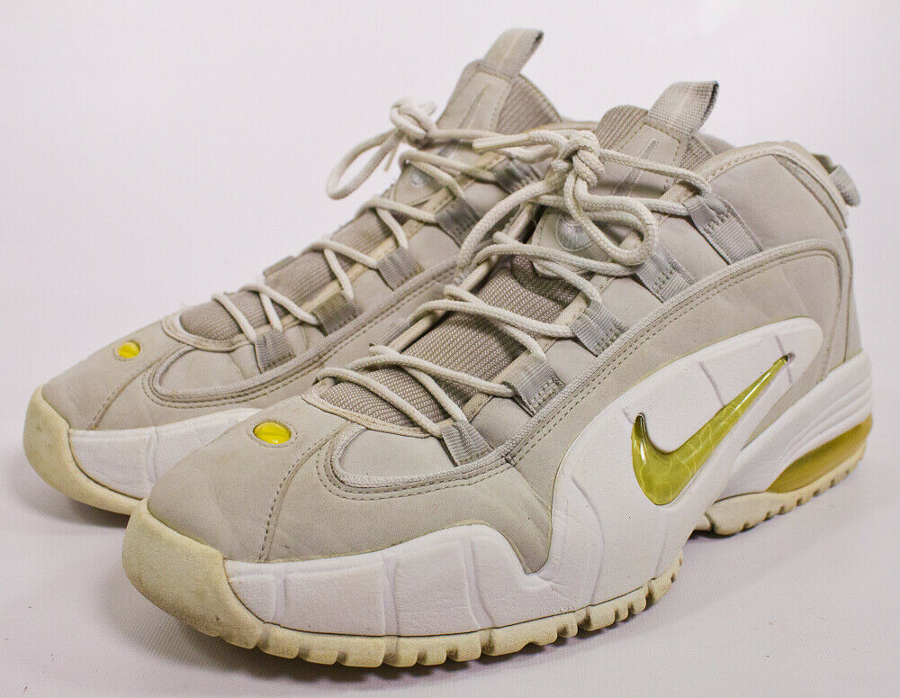Air Max Penny Neutral Grey Size 13 Grey White 624017-012