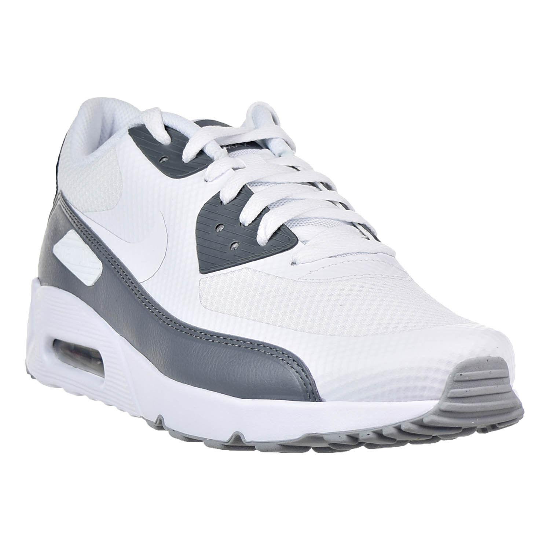 Nike MENS Air Max 90 Ultra 2.0 Essential WhiteGrey 875695-102 SIZE 11.5 (29.5CM)