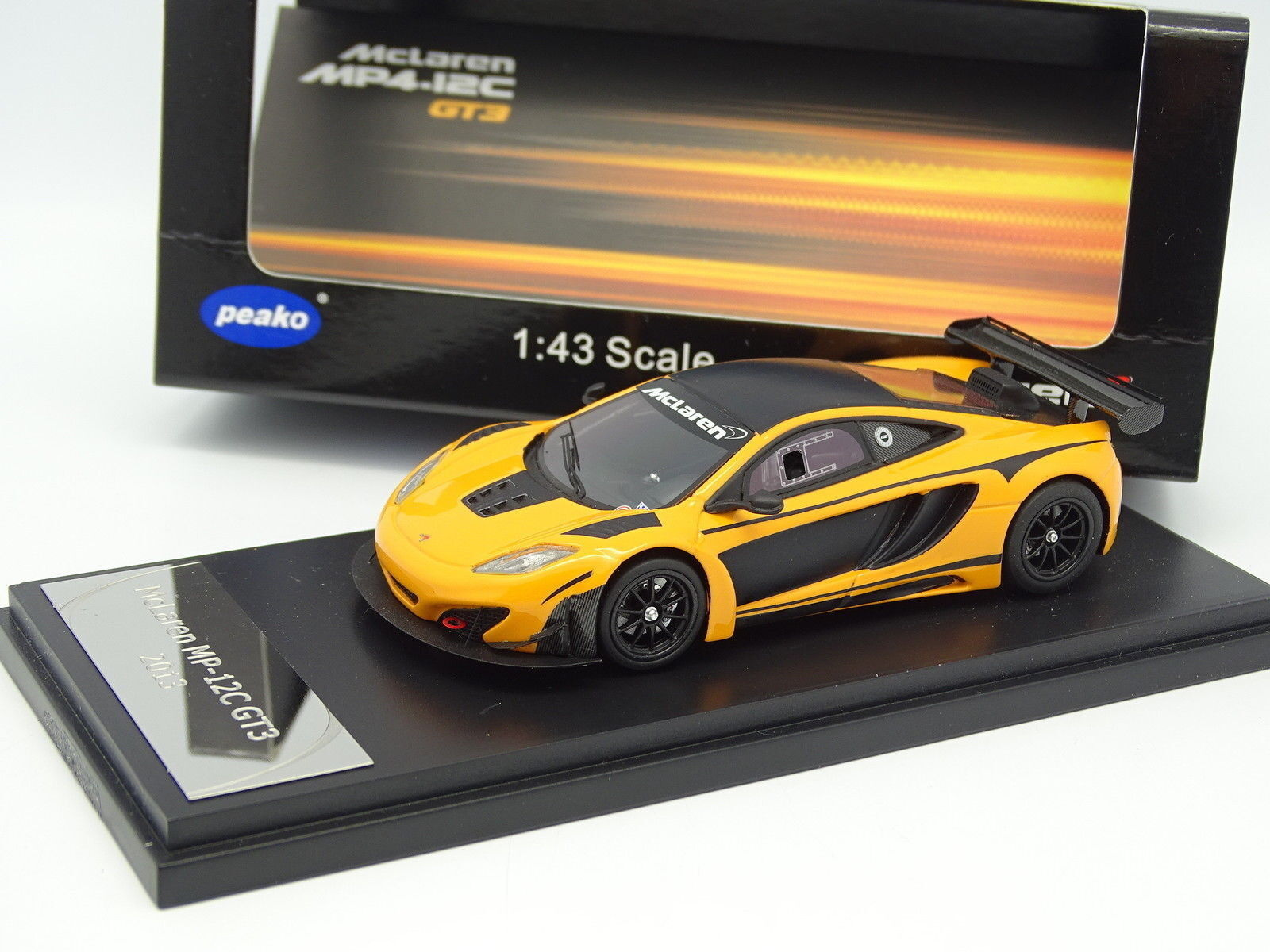 Peako Resin 1 43 - McLaren MP4-12C GT3 2013 Orange