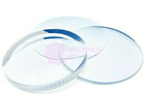 PAIR OF SINGLE VISION HIGH PRESCRIPTION LENSES - THINEST AS POSSIBLE