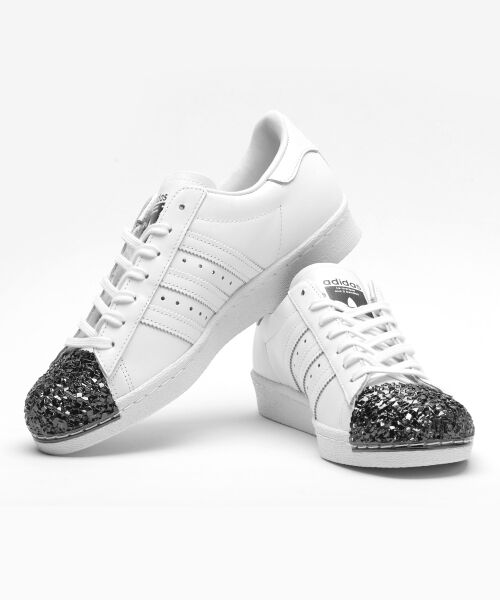 ADIDAS WMNS SUPERSTAR 80S METAL-TOE WHITE S76532 US US US WOMENS SZ 5-11 4a41ca