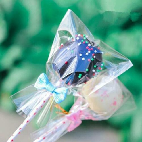 Christmas Cello Cellophane Loot Bags Cookie Sweet Biscuit Party Gift Storage BL3