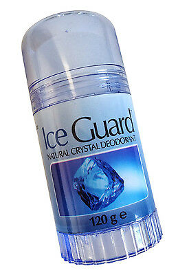 3X Ice Guard Natural Crystal Deodorant Stick 120g