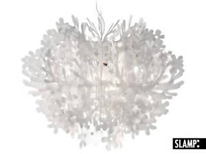 Lampadario Fiorella Slamp : Lampadario lampada a sospensione fiorella slamp bianco ebay