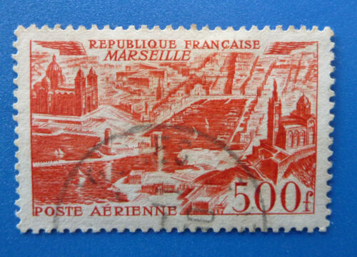 FRANCE 1949 NEW DAILY STAMPS MARSEILLE 500f USED STAMP SG 1056