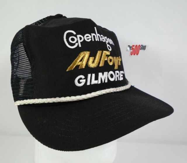 Copenhagen AJ Foyt Gilmore Emblem Trucker Snapback Collector Hat #14 Indy 500