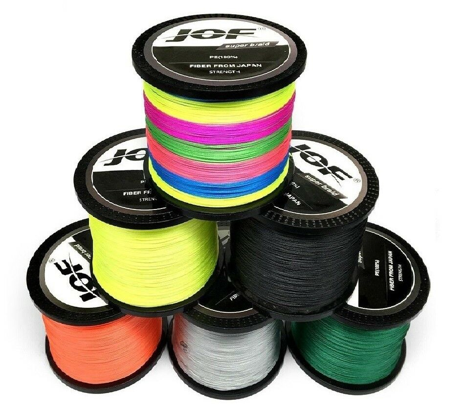 Braided Fishing Line 1000M Super Strong Multifilament 8  10 20 30 40 60 80 100 LB  up to 60% discount
