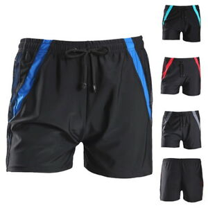 Men-Summer-Swimwear-Shorts-Swim-Boxer-Swim-Trunks-Nylon-Light-Thin-Beachwear-DS