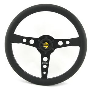 Momo-Leder-Sportlenkrad-Prototipo-350mm-schwarz-black-steering-wheel-volante