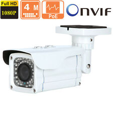 4MP  IP Bullet Camera 2.8-12mm  Vari-foca Outdoor 1080p  POE ONVIF 42 IR Leds