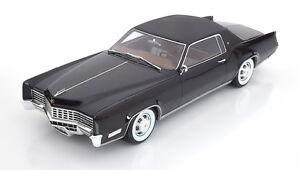 1967 cadillac eldorado black by bos models le of 1000 1 18 scale rare