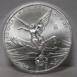Mexico Silver .999  1//2 oz 2013 1//2oz Mexician Libertad