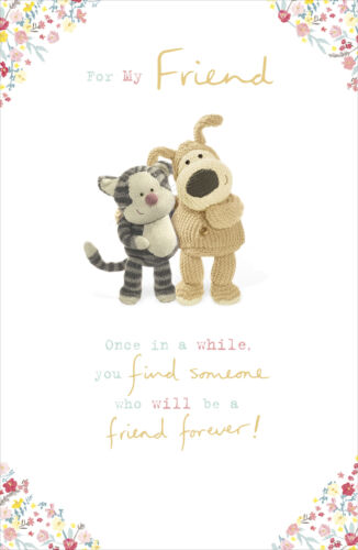 Boofle For My Friend Forever Birthday Card