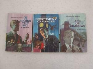 Lot of 3 Jack Lancer Christopher Cool TEEN AGENT Inc. #4 ACE OF SHADOWS