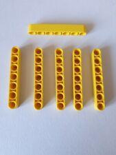 4495935 BLACK 6 x NEW LEGO TECHNIC LIFTARM 1 x 7 THICK PART No