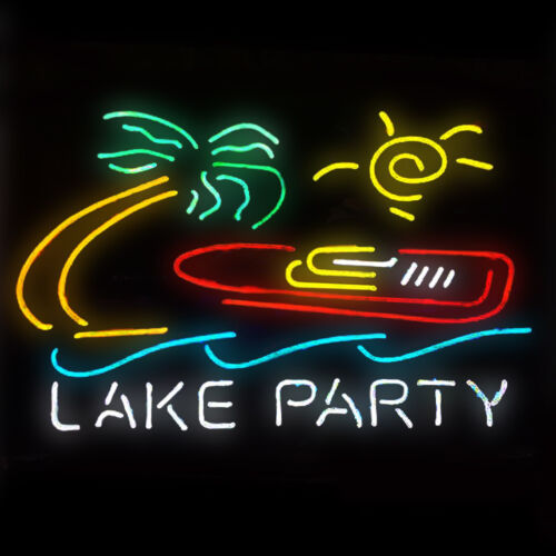 Neon Light Lake Party Beer Bar Pub Party Homeroom Beach Decor For Gift Signs