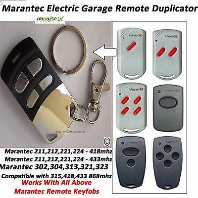 Marantec Compatible remote duplicator - Marantec Digital 302, 304, 313, 321, 323