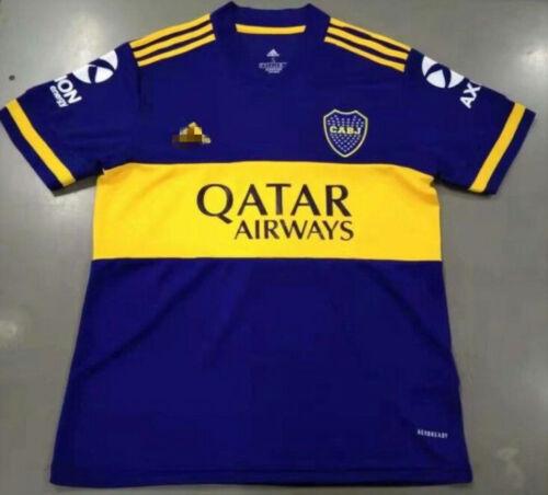 NEW 2020-2021 Boca Juniors Home//Away Soccer Jersey Man Tshirt armband; patch