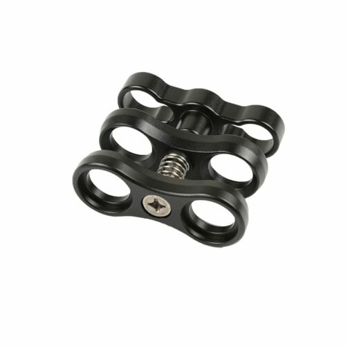 """4Pcs//set 1/"""" Inch Standard Ball Clamp Butterfly Clip for the Double 1/"""" Ball Mount"""