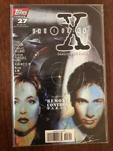 X-Files-Remote-Control-27-Part-1-of-3-March-1997-Topps-Comics-FREE-Bag-Board