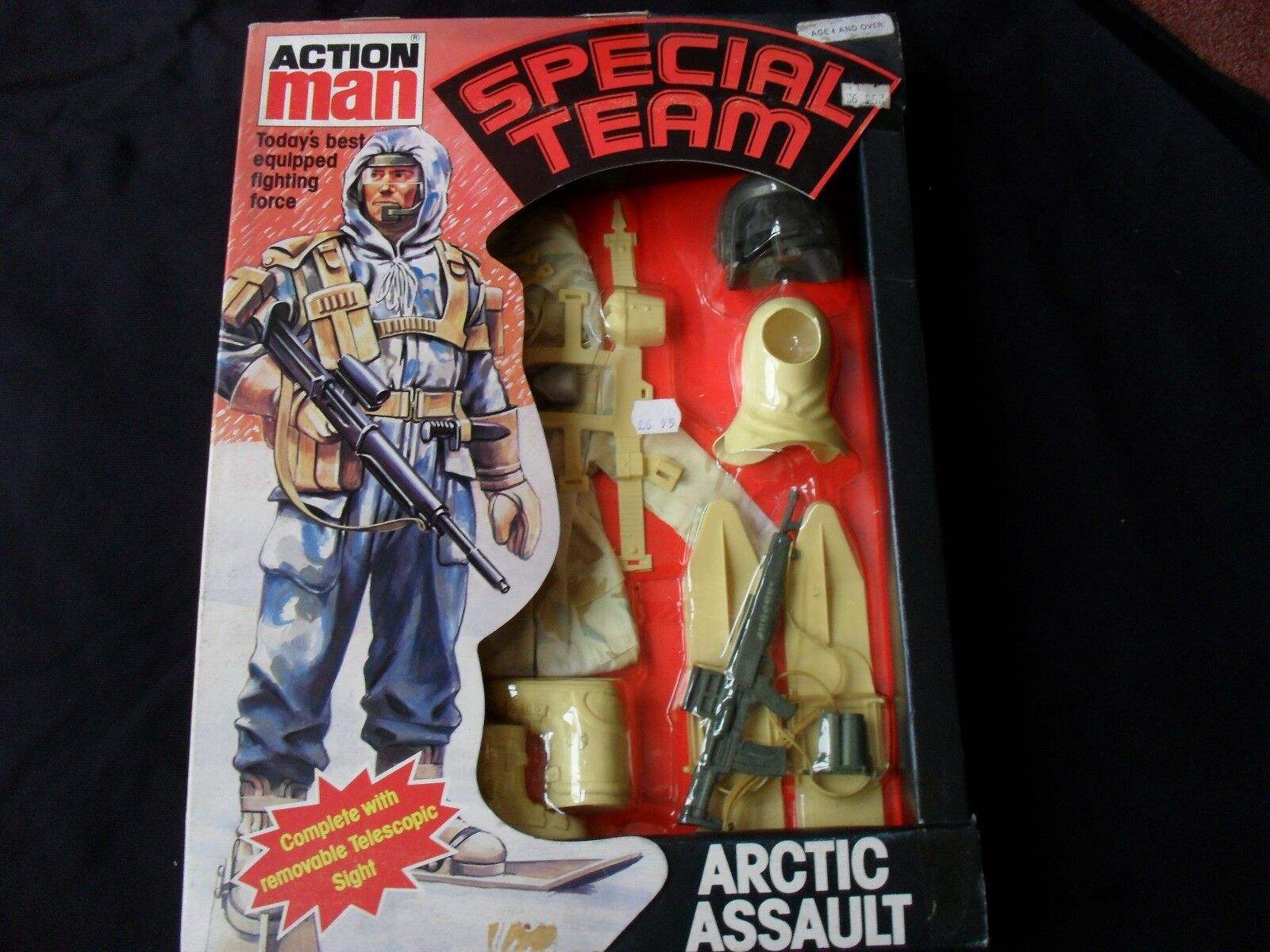 BOXED PALITOY VINTAGE ACTION MAN SPECIAL TEAM  Arctic Assault