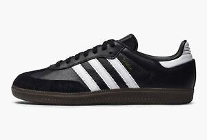 259eef350761 Details about Adidas Originals Men's SAMBA OG Shoes Black/White/Gum BZ0058 c