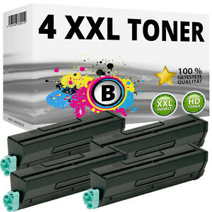 4x-XXL-TONER-PATRONE-fuer-OKI-B4300N-B4300NPS-B4350N-B4350NPS-B4500-B3450PS-Black