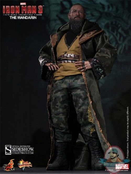 1 6 Scale Iron Man 3 The Mandarin 12 inch Figure by Hot Toys