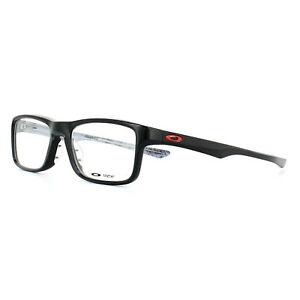 84c5c5e92fa Oakley Glasses Frames Plank 2.0 OX8081-02 Polished Black 51mm Mens ...