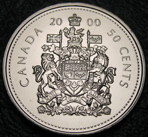 RCM Specimen 1997-50-cents Coat of Arms Uncirculated