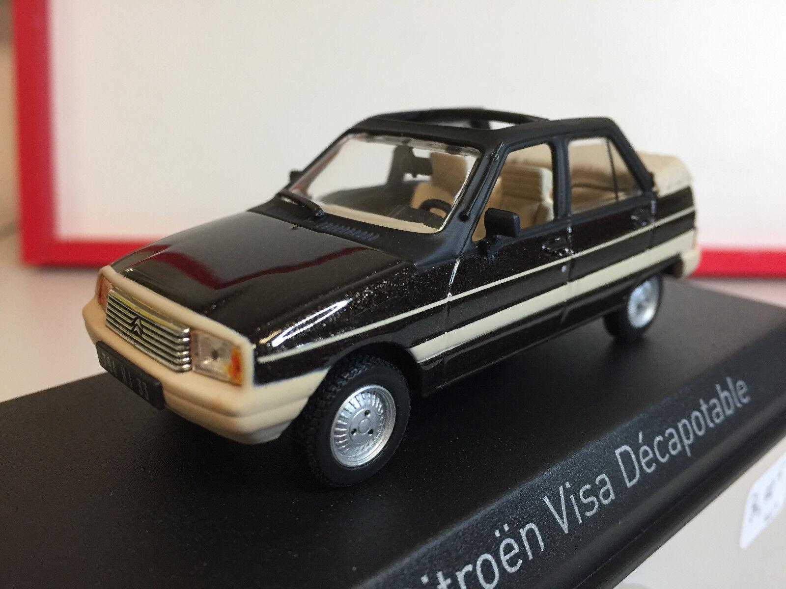 Norev Citroën Visa Décapotable 1984 Vison marron 1 43 150943