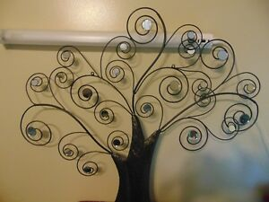 Tall Metal Wall Art Decor Extra Large