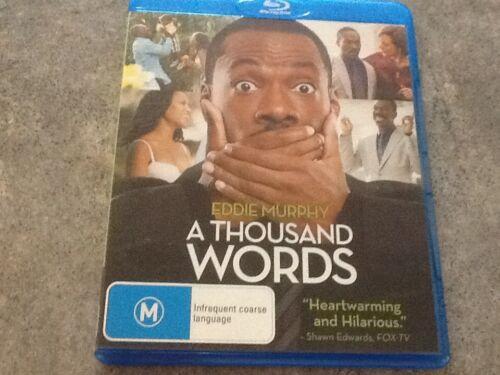 1 of 1 - A Thousand Words / Eddie Murphy Blu-ray Region B Low Postage