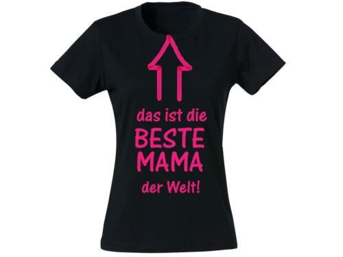 Muttertag Mama Mutti Mum Mom Geschenk T-Shirt Das ist die beste Mama der Welt