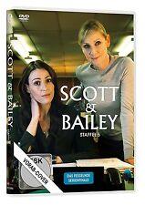 SCOTT & BAILEY - STAFFEL 5  JONES,SURANNE/SHARP,LESLEY/+  DVD NEU