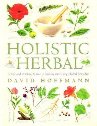HOLISTIC HERBAL by David Hoffman Texbook Herbology VG