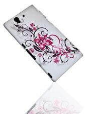 Design No.1 Hard Back Cover Handy Case Hülle Schutz für Sony Xperia Z  (L36H)