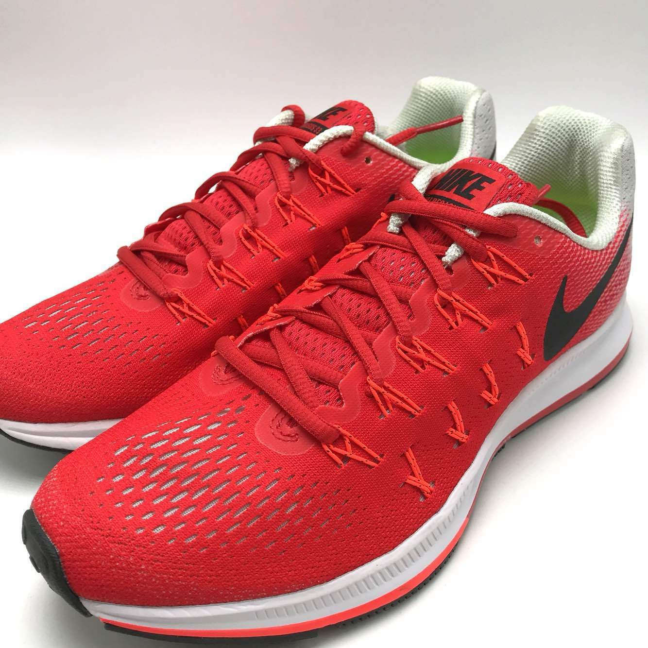 Nike Air Zoom Shoes Pegasus 33 Men's Running Shoes Zoom Red/Black-Crimson 831352-600 1ecb4c