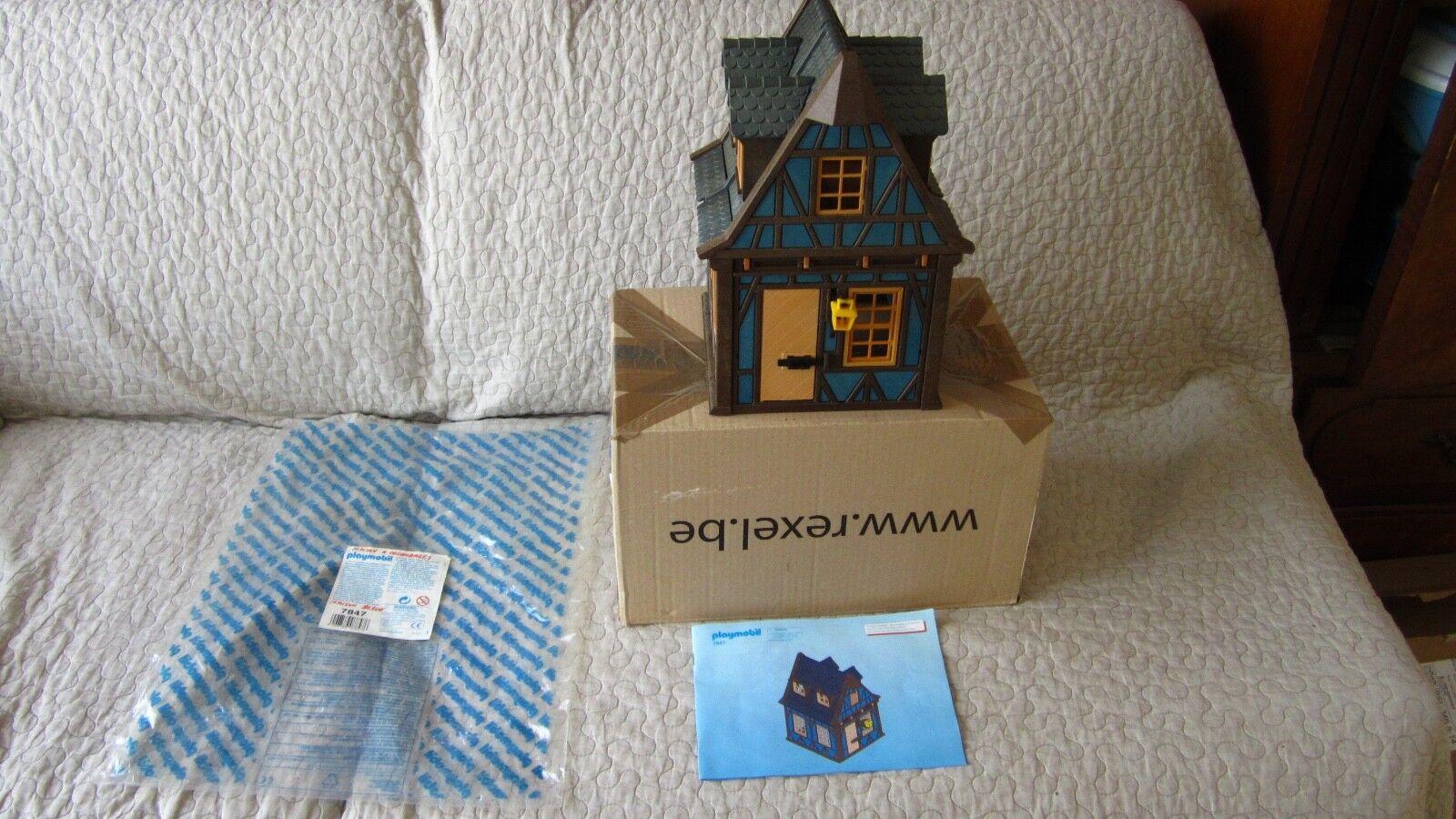 Playmobil 7847 House huis maison Médiéval chevalier Castle fakwerhaus
