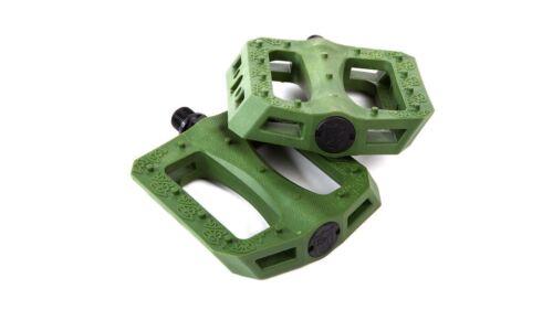 S/&M GNS Pedals Dark Green Grip N/' Slide